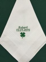 Gents Personalised Handkerchief